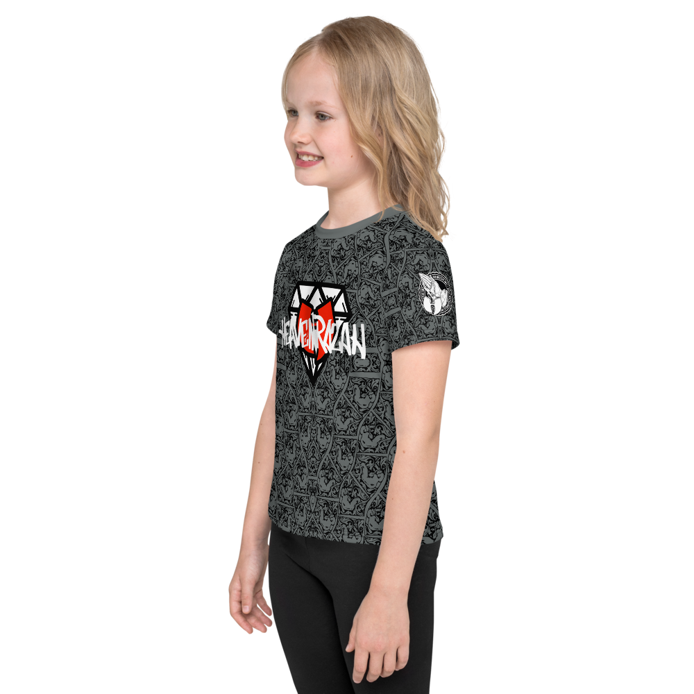 HeavenRazah Rubiez - Diamondz Youth 2T - 6x - Kids T-Shirt. Official HellRazah Music Inc Merch
