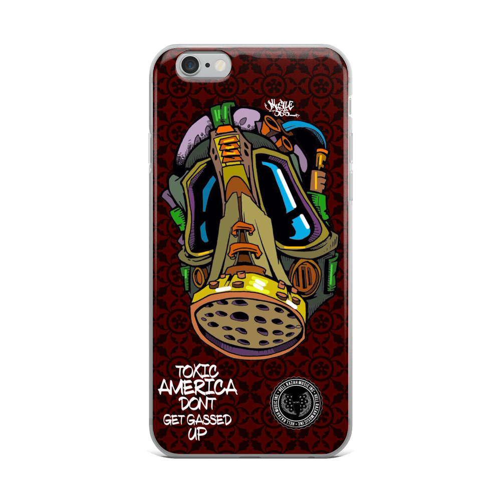 Official Hell Razah Dont Get Gassed Up Cell Phone / iPhone Case Graphics by iHustle365
