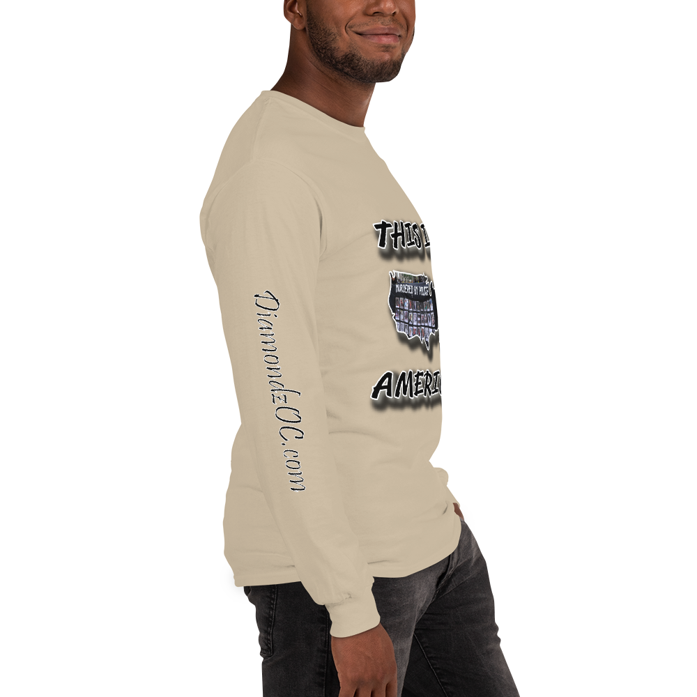 This Is America Murdered By Police by DOC Long Sleeve T-Shirt