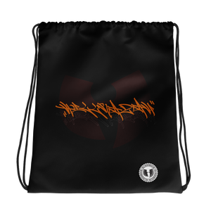Official Hell Razah Music Inc Tagger Signature Logo Designer Drawstring Bag Heaven Razah Merch Graphics by Sly Ski Original