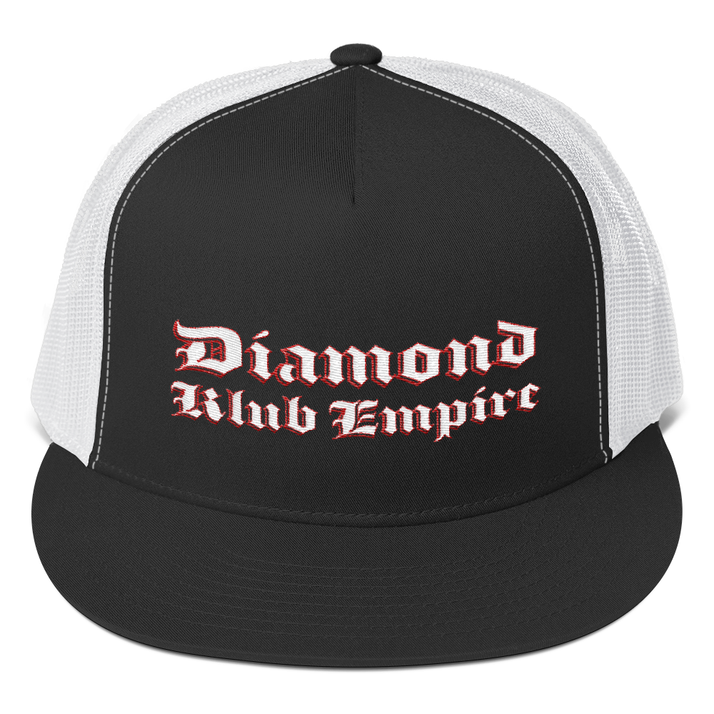 Diamond Klub Empire by DOC 5 Panel Hat Trucker Cap