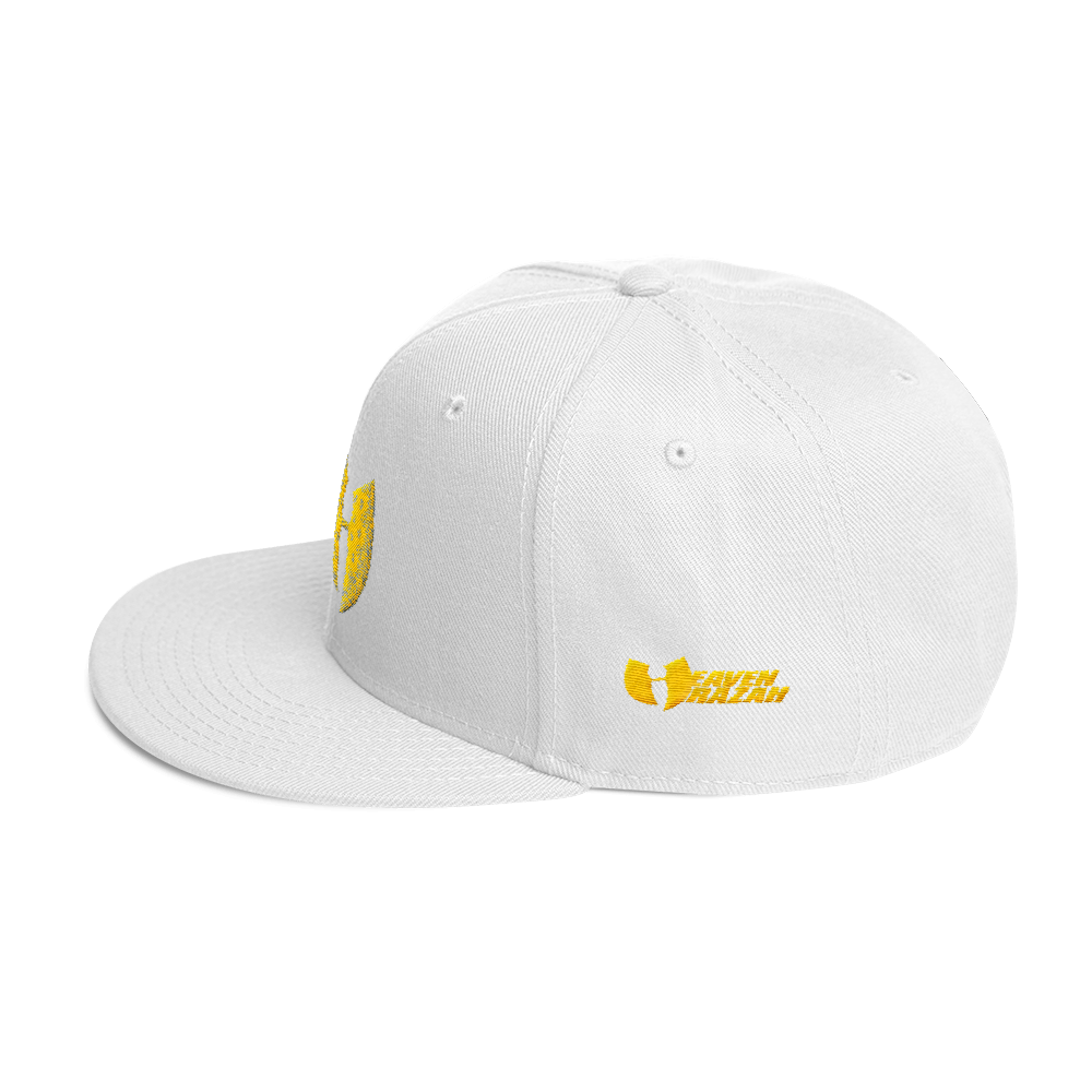Official Heaven Razah / Hell Razah Music Inc Gold Bandana Logo Embroidered Cap Snapback Hat