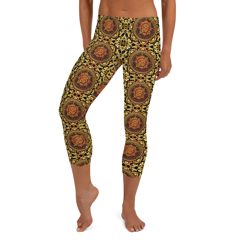 Sunz Of Man DJ Flipcyide Wu-Files 10 Capri Leggings
