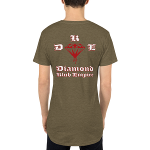 DKE Blood Diamond by DOC Soft Designer Long Body Urban Tee