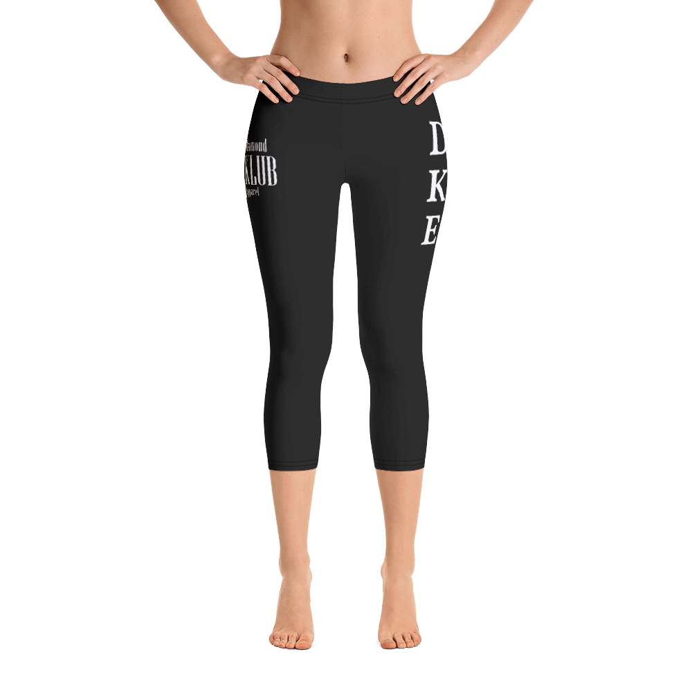 Official Diamond Klub Apparel Designer Capri Leggings