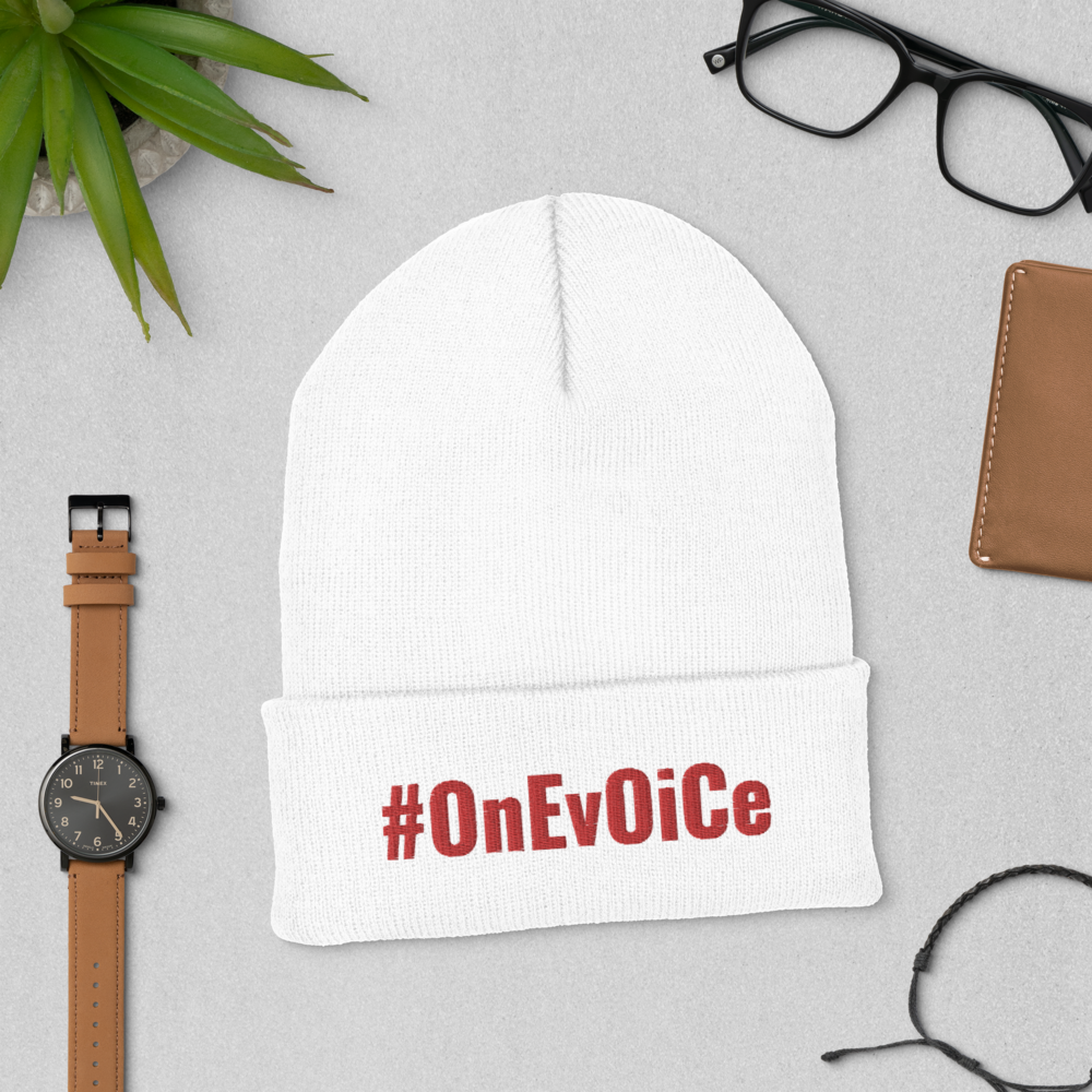 #OnEvOiCe Cuffed Beanie