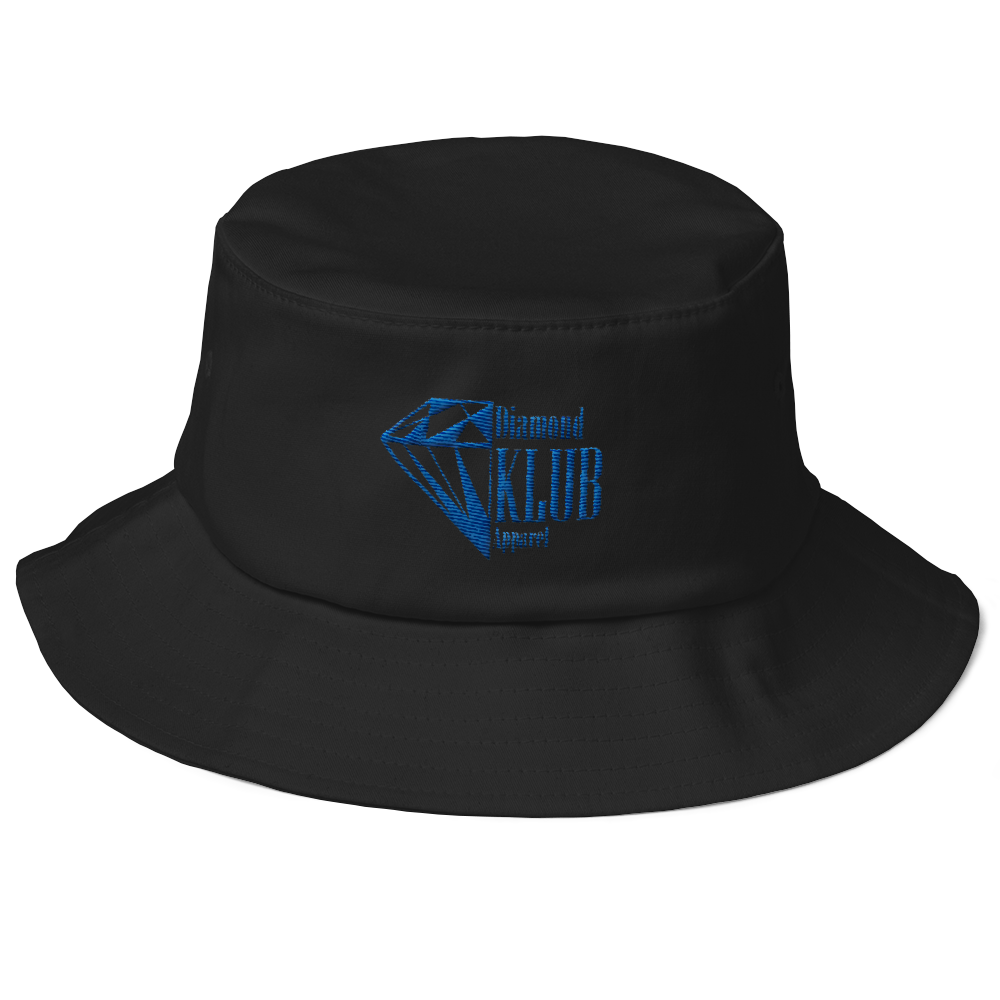 Diamond Klub Apparel Logo Old School Bucket Hat