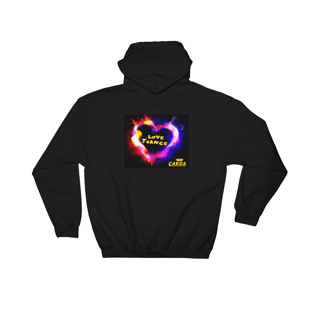 Caeza Love Trance DKE by DOC Designer Hooded Sweatshirt