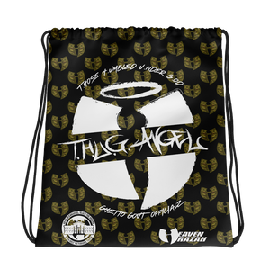 THUG Angel Ghetto Gov't Officialz Hell Razah / Heaven Razah Official Merchandise Drawstring Bag