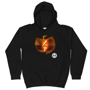 Official HellRazah Music Inc. Fire Emblem Designer Unisex Youth Hoodie Kids Hoodie HeavenRazah Merch Graphics by SmuveMassBeatz