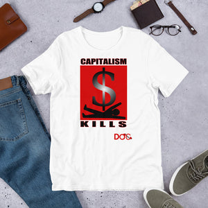 Capitalism Kills Diamondz OC / D.O.C. Designer Soft Short-Sleeve Unisex T-Shirt