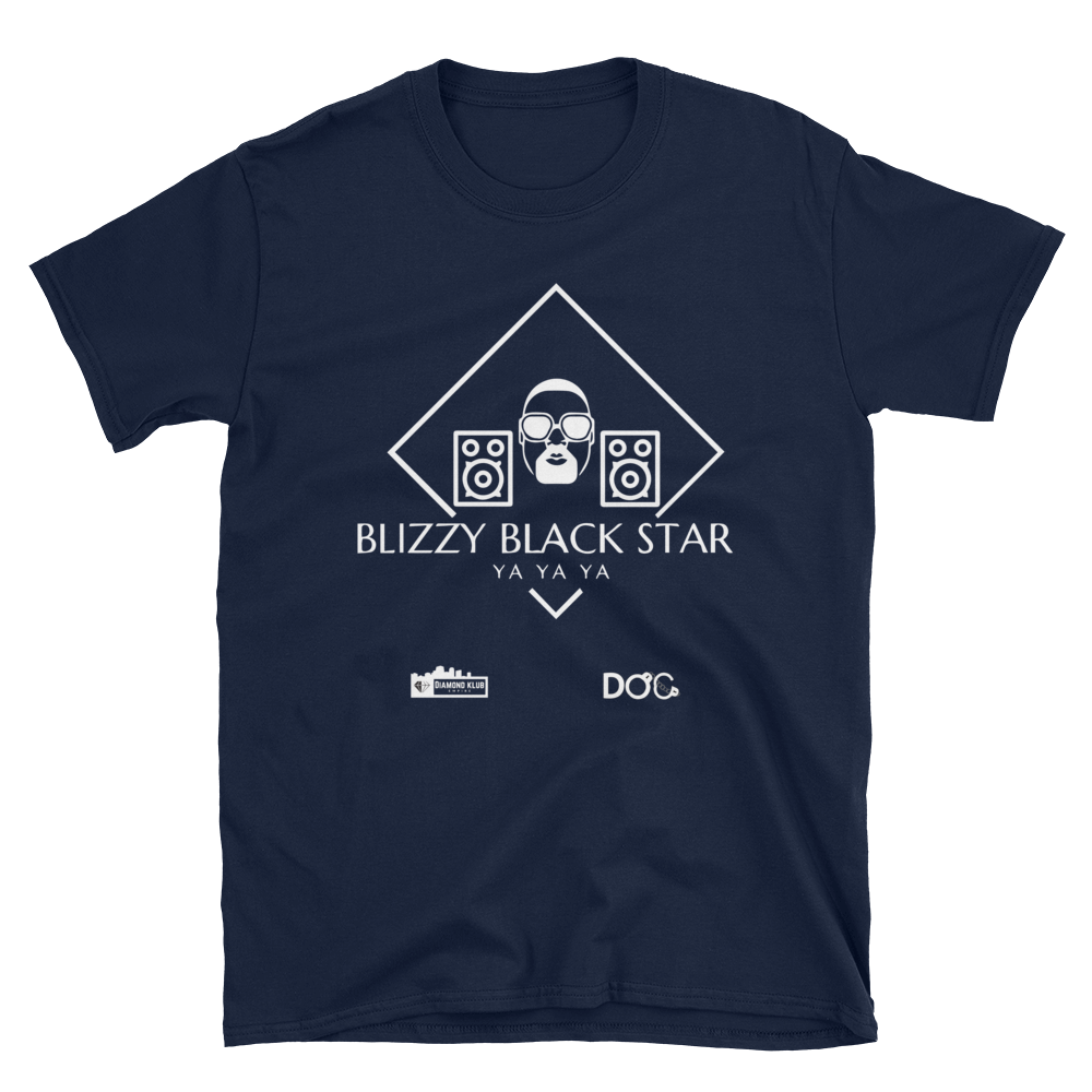 Official Diamond Klub Blizzy Black Star Logo Designer Tee Short-Sleeve Unisex T-Shirt