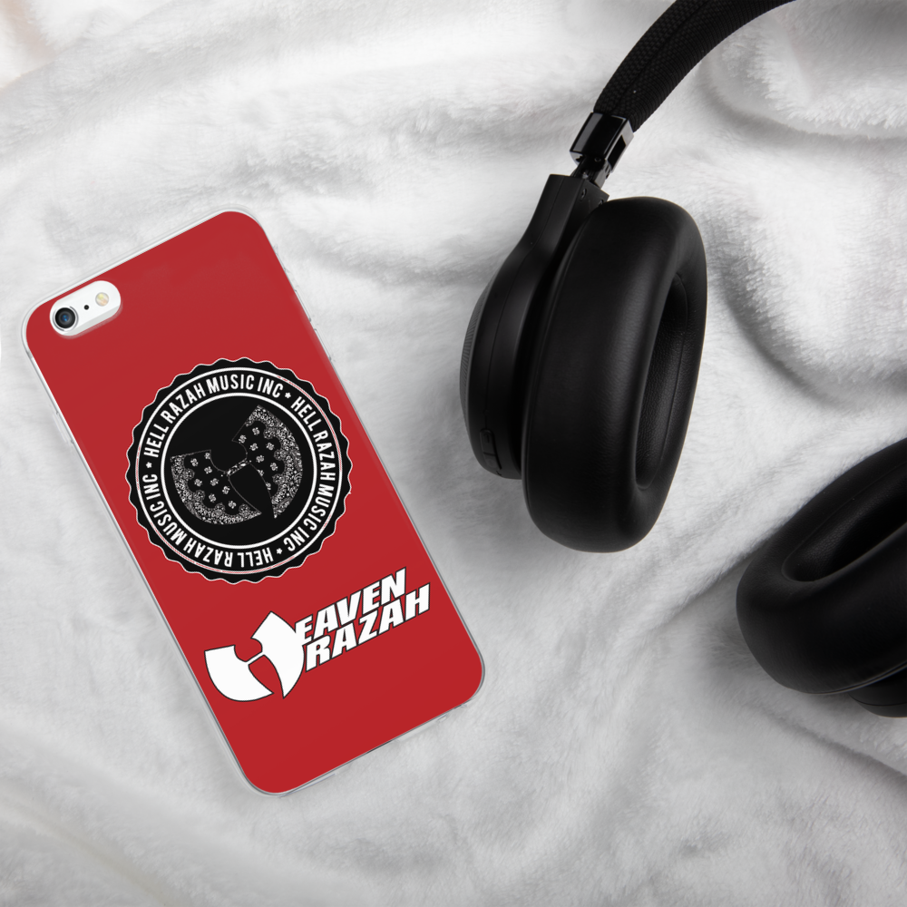 Official Hell Razah Music Inc Heaven Razah Case iPhone Case Graphics by Culture Freedom