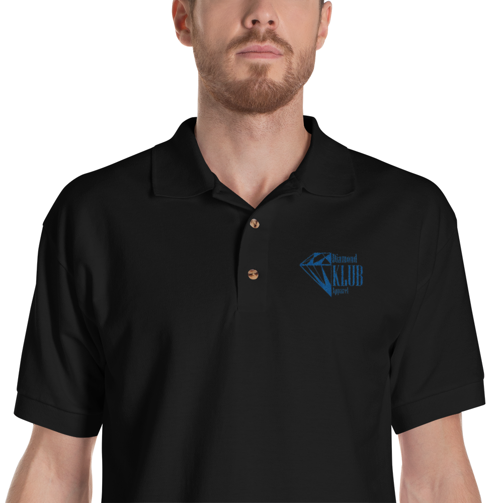 Diamond Klub Apparel Logo Embroidered Polo Shirt