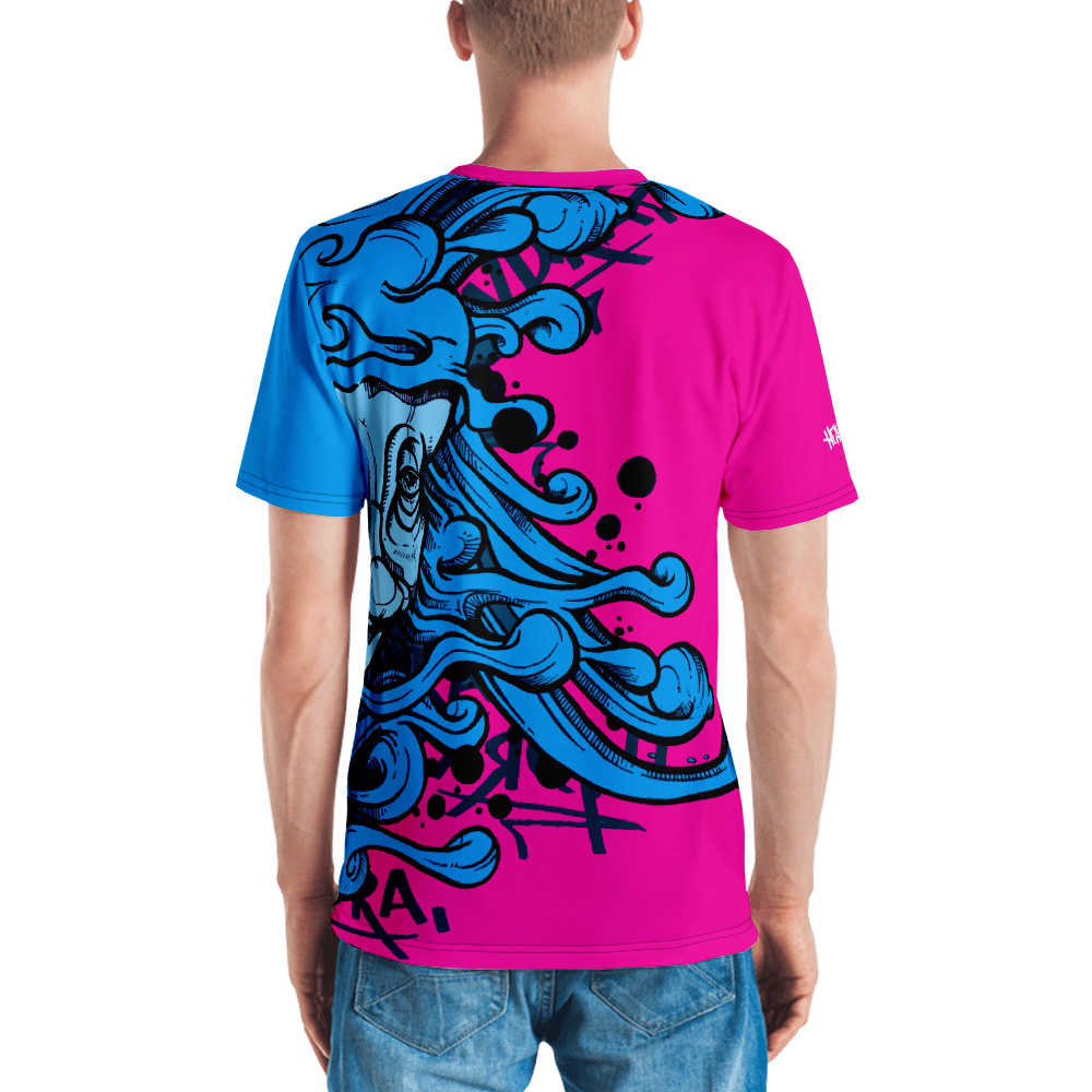 iHustle365_ HYDRA Street Art on Tee Designer Men's T-shirt HRMI - HellRazah Music Inc.