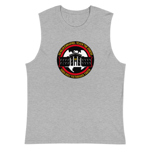 Ghetto Gov't Officialz Logo Designer Unisex Muscle Shirt