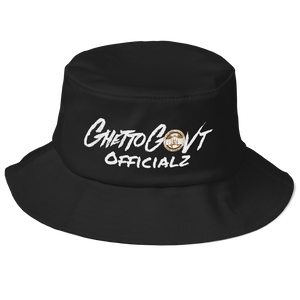 Ghetto Gov't Officialz GGO Old School Bucket Hat
