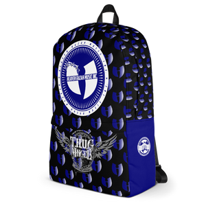Official Hell Razah Music Ghetto Govt Officialz Designer Blue Backpack