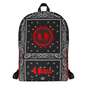 Official Hell Razah Music Inc Logo / Heaven Razah Black Bandana Designer Laptop Carry Bag -Backpack