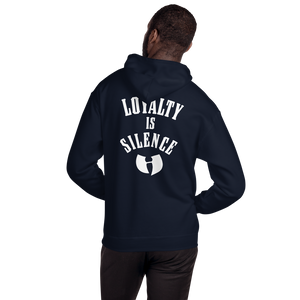 HRMI LOYALTY IS SILENCE Fall 2019 HellRazah Music Inc. Hooded Sweatshirt Official HeavenRazah - DiamondzOC