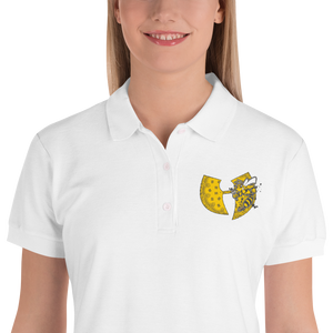 Heavenly Bee Women's Designer Embroidered Women's Polo Shirt