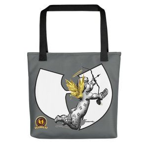 HRMI Angel Designer Tote Bag HelllRazah Music Inc / HeavenRazah Graphics by SmuveMassBeatz