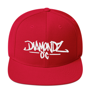 DiamondzOC Street Style Embroidered Cap Snapback Hat
