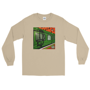 "Renaissance Apparel ""Subway"" Designer Unisex Long Sleeve Shirt"