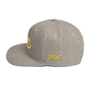 DOC Embroidered Snapback Hat