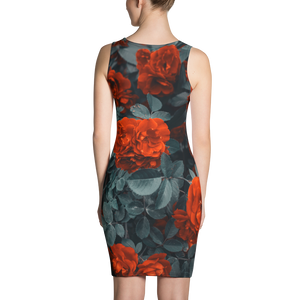Roses Diamondz Designer Sublimation Cut & Sew Dress