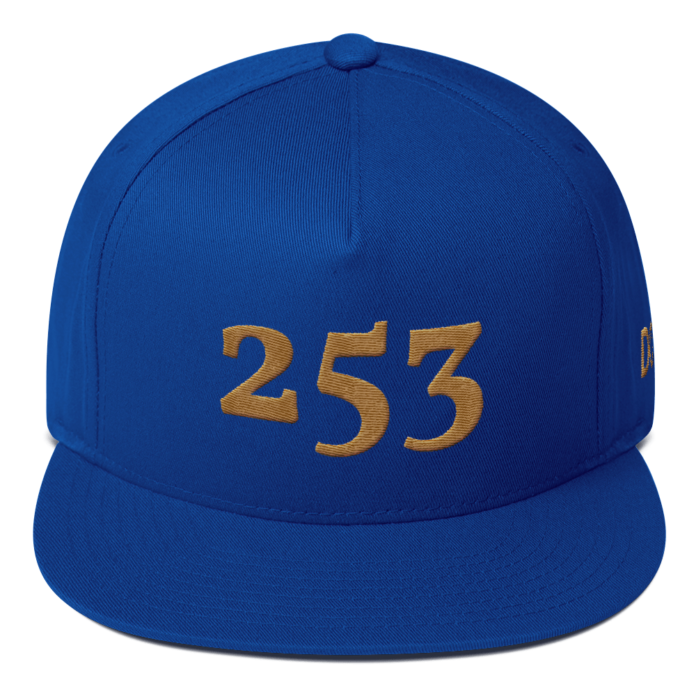 HRMI Personalized Area Code Flat Bill Snapback Cap HellRazah Music Inc