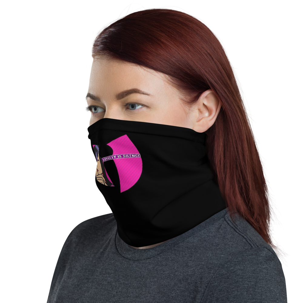 Loyalty Is Silence 2 - HeavenRazah Logo Face Shield - Neck Gaiter