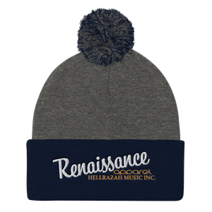 Renaissance Apparel Embroidered Winter Knit Cap
