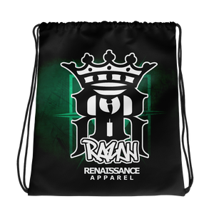 Razah Renaissance Apparel Logo Drawstring Bag Official HRMI HellRazah Music Inc. HeavenRazah Merchandise