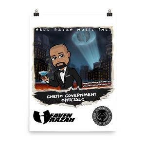 Ghetto Government Officialz Hell Razah Music Inc Poster
