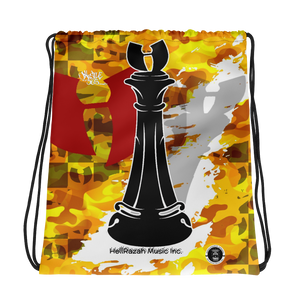 Razah Renaissance Apparel CHECKMATE Drawstring bag