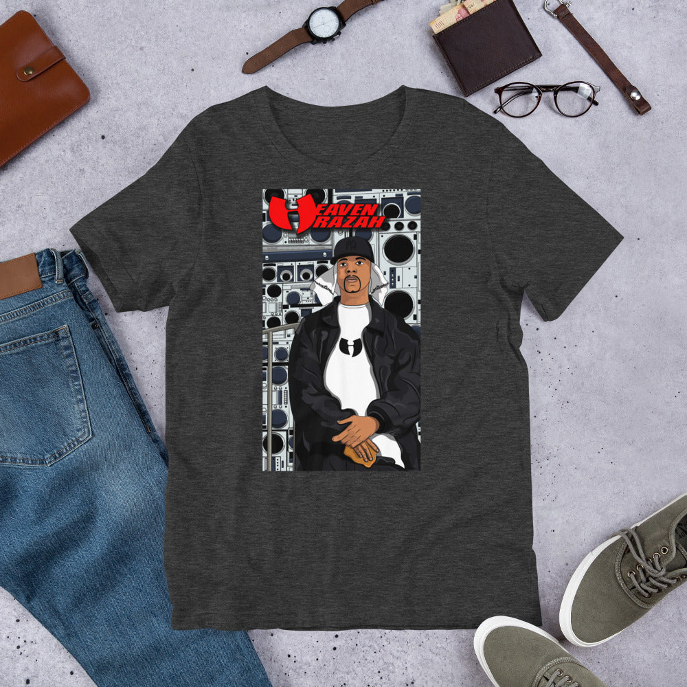 Official Heaven Razah / Hell Razah Music Merch Toon Tee by Sly Ski Original Short-Sleeve Unisex T-Shirt