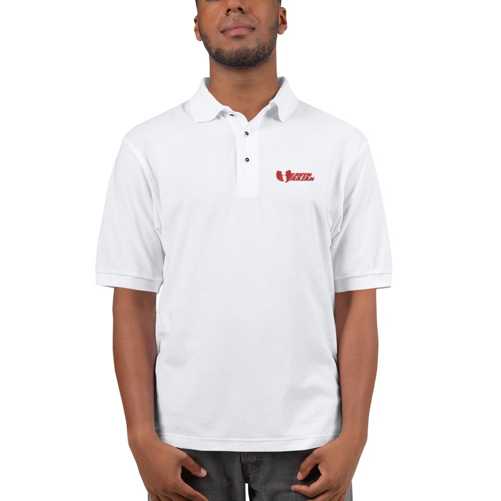 Official Heaven Razah / Hell Razah Embroidered Polo Shirt Graphics by Culture Freedom