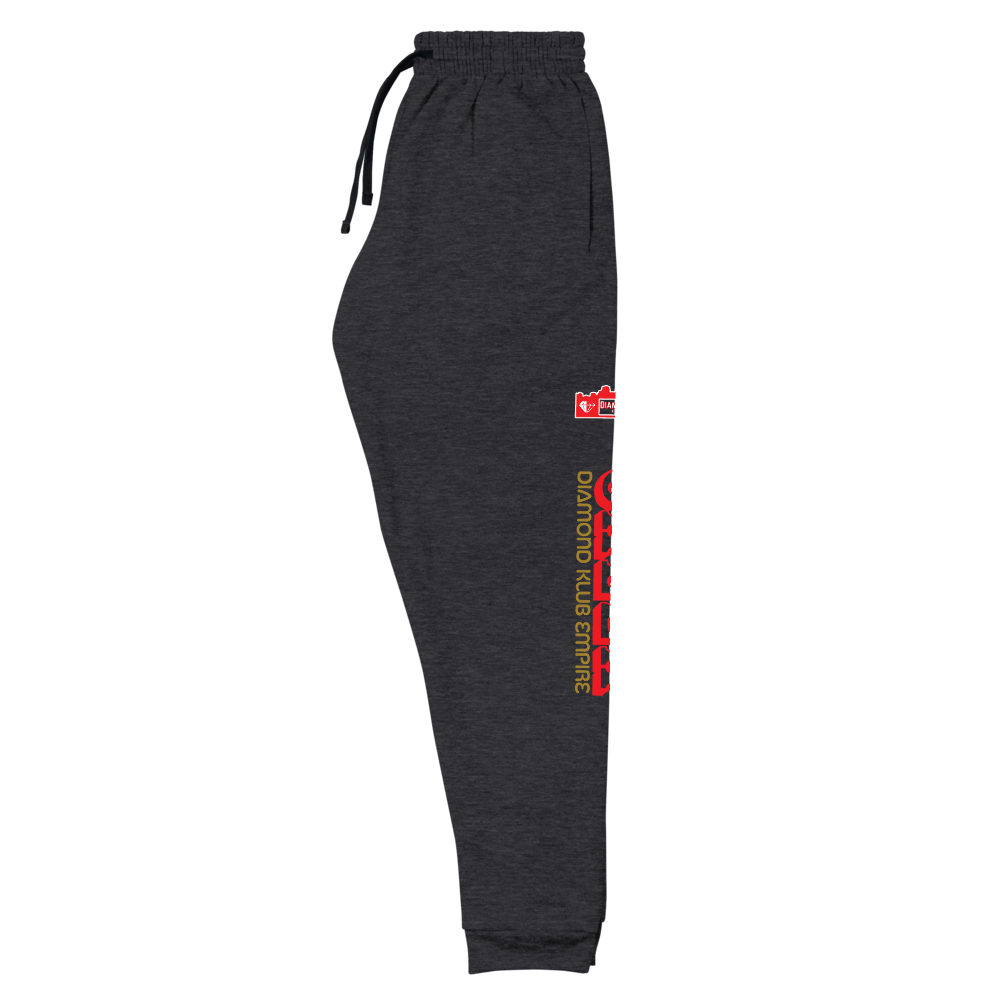 Caeza Diamond Klub Empire Joggers designed by D.O.C. Jerzees Unisex Sweatpants