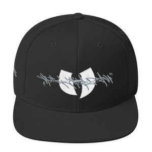 Official Hell Razah Music Inc Tagger Signature Logo Designer Cap Embroidered Snapback Hat Graphics by Sly Ski Original