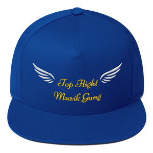 Diamond Klub Apparel Top Flight Muzik Gang Embroidered Flat Bill Cap