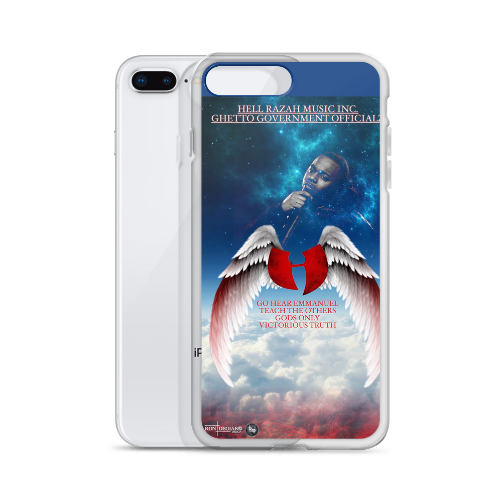 Official Hell Razah Music Wingz iPhone Case