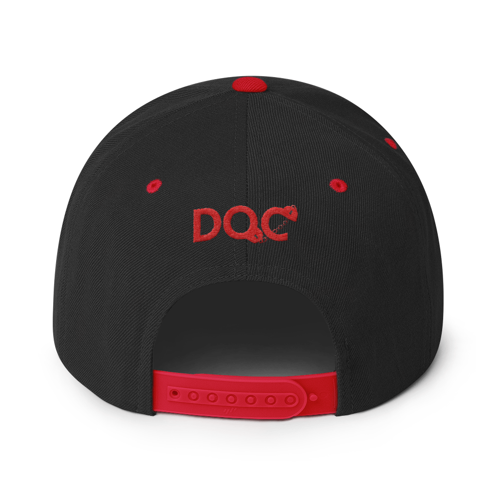 Young Mistik DKE designed by D.O.C. Embroidered Snapback Cap Hat