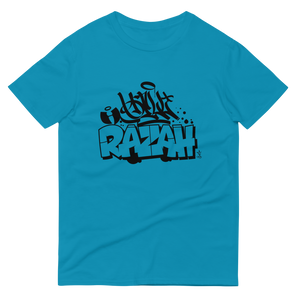 Hell Razah Graffiti Sly Ski Style Unisex Short-Sleeve T-Shirt