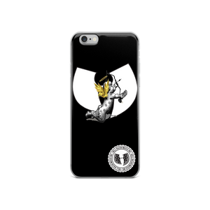 Official Hell Razah Music Inc Cherub with Mic Designer iPhone Case Heaven Razah Graphics by SmuveMassBeatz
