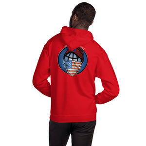 Ghetto Gov't Officialz Worldwide Flag Unisex Hoodie