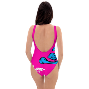 Pink Hydra One-Piece Swimsuit