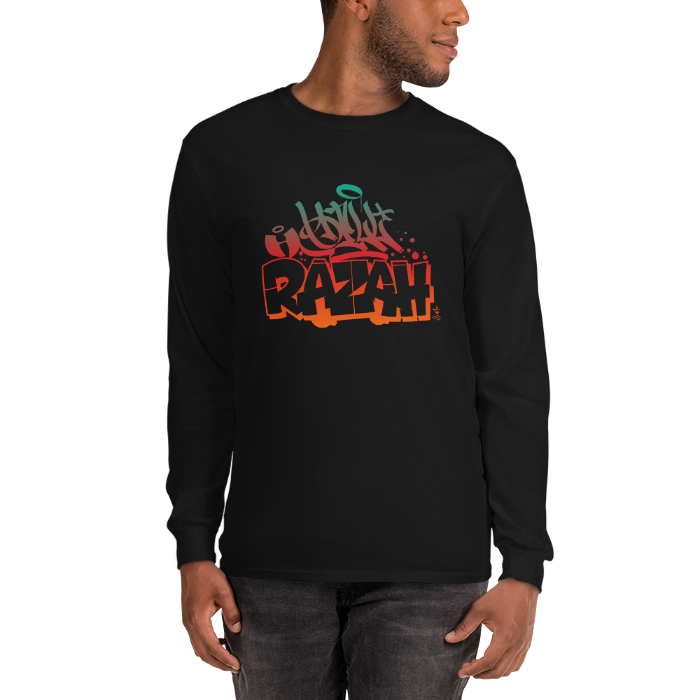 Hell Razah Tagger Style 2020 Unisex Long Sleeve Shirt Renaissance Apparel Graphics by Sly Ski Original