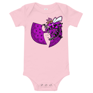 Official Heaven Razah Purple Bee Designer Baby Bodysuit Infant Tee T-Shirt Hell Razah Music Inc