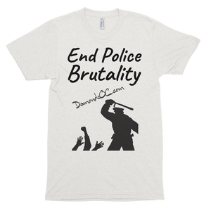 DiamondzOC End Police Brutality Short Sleeve Soft T-Shirt